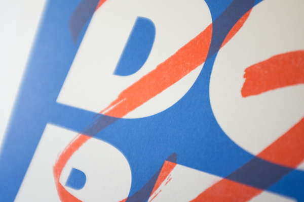 Detail of a print with the big bold words DO BETTER.